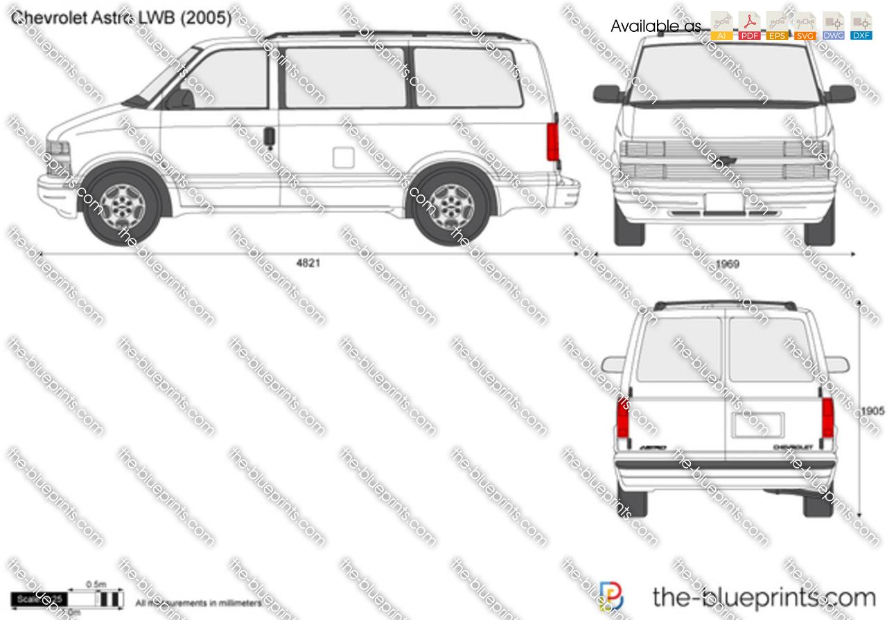 Chevrolet Astro LWB 1996