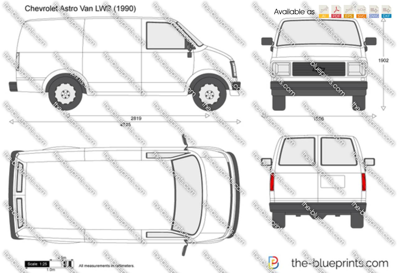 Chevrolet Astro Van LWB 1992