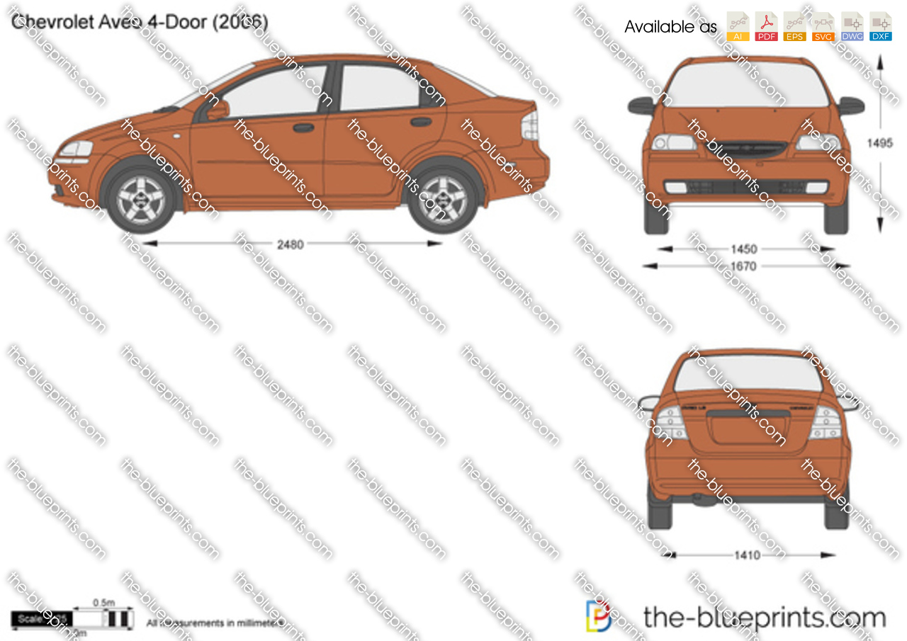 Chevrolet Aveo 4-Door 2005