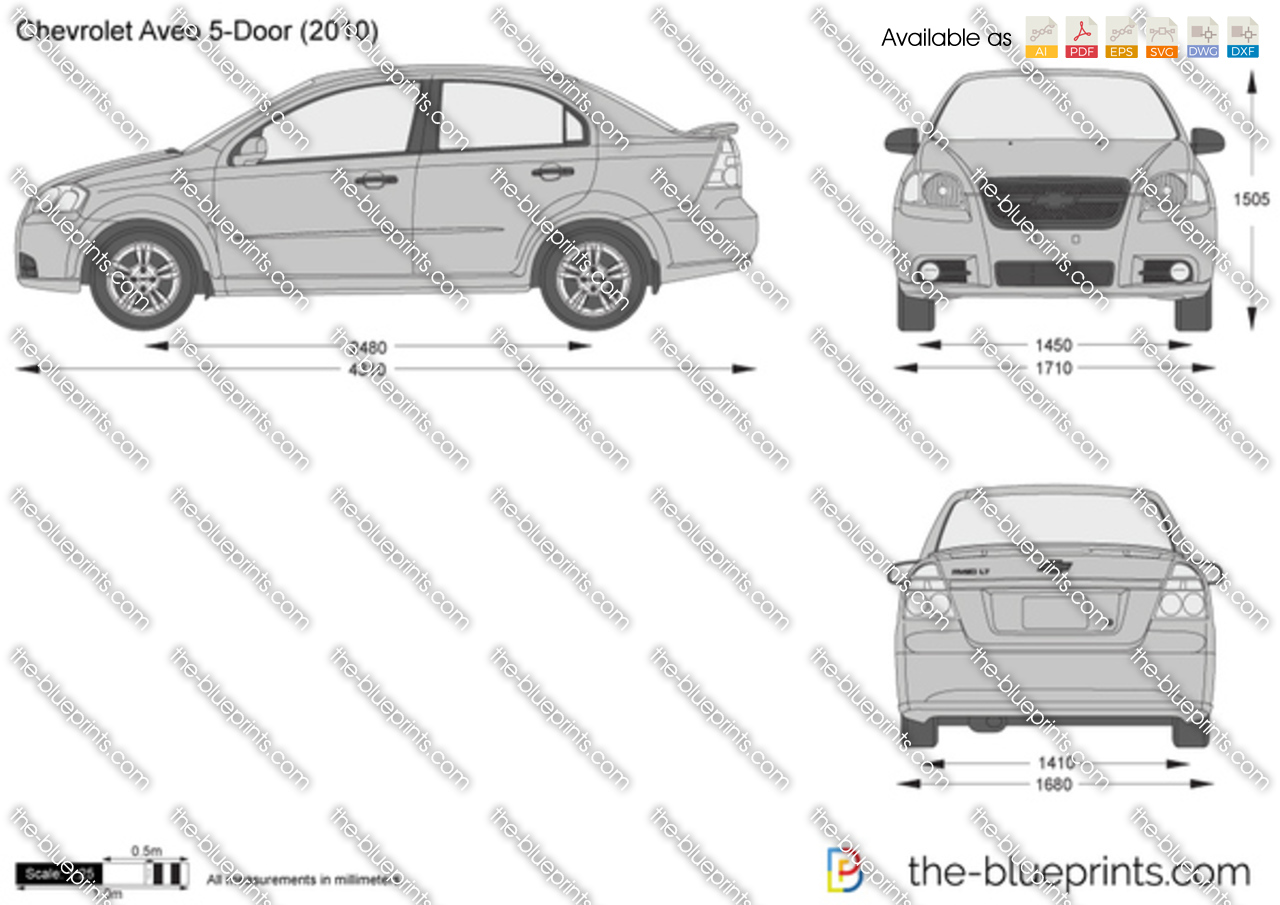 Chevrolet Aveo 5-Door 2010