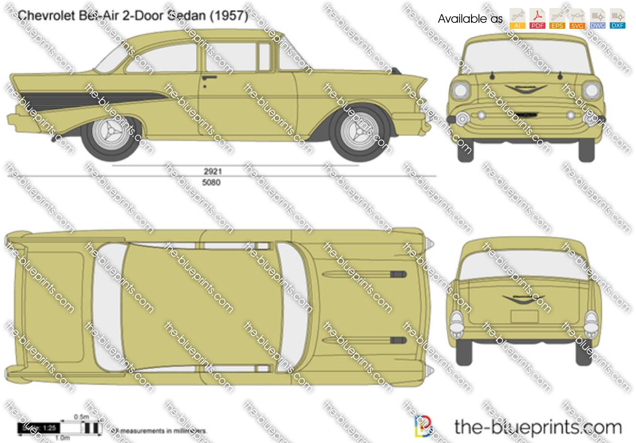 Chevrolet Bel Air 2-Door Sedan