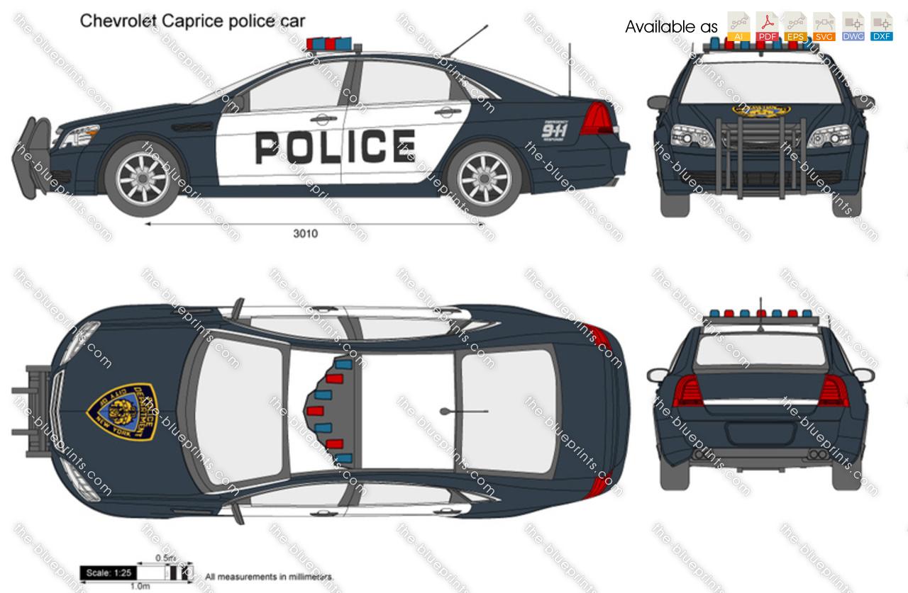 Chevrolet Caprice police car