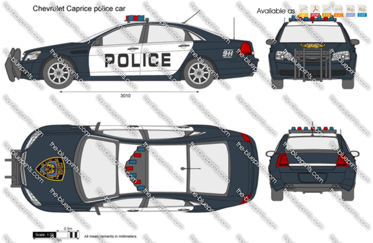 Chevrolet Caprice Police Car 2012