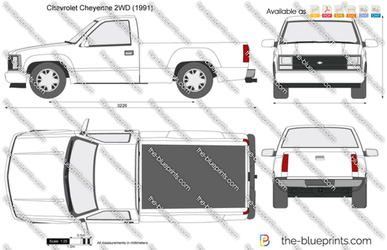 Chevrolet Cheyenne 2WD