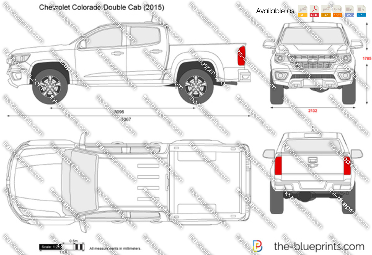Chevrolet Colorado Double Cab 2017