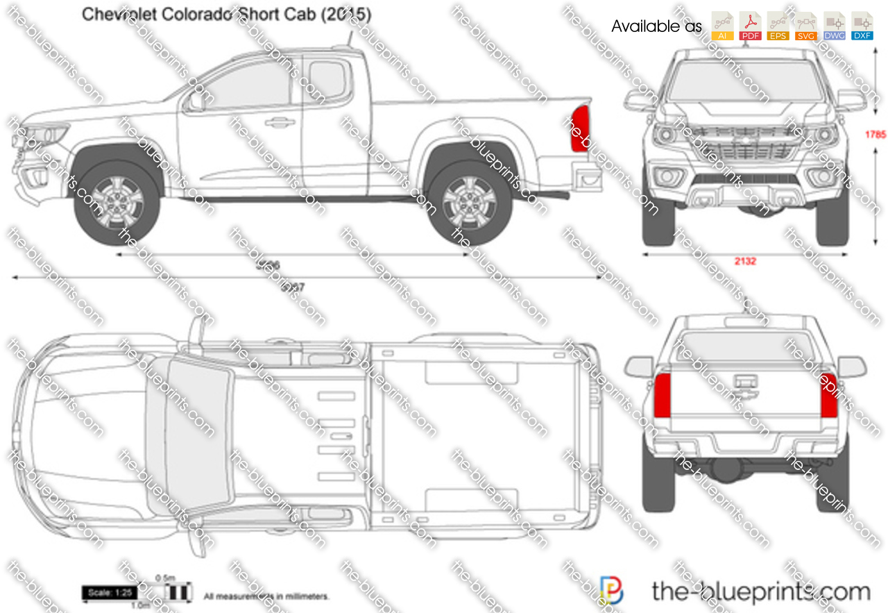 Chevrolet Colorado Short Cab 2018