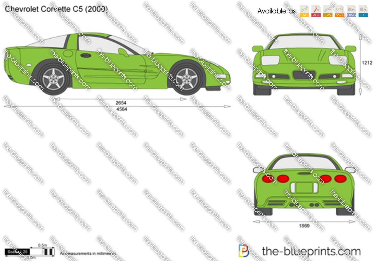 Chevrolet Corvette C5 1996