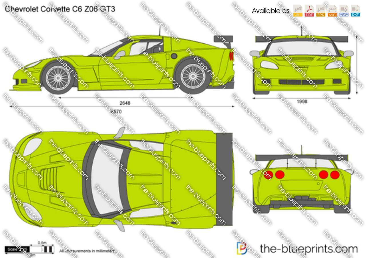 Chevrolet Corvette C6 Z06 GT3 2008