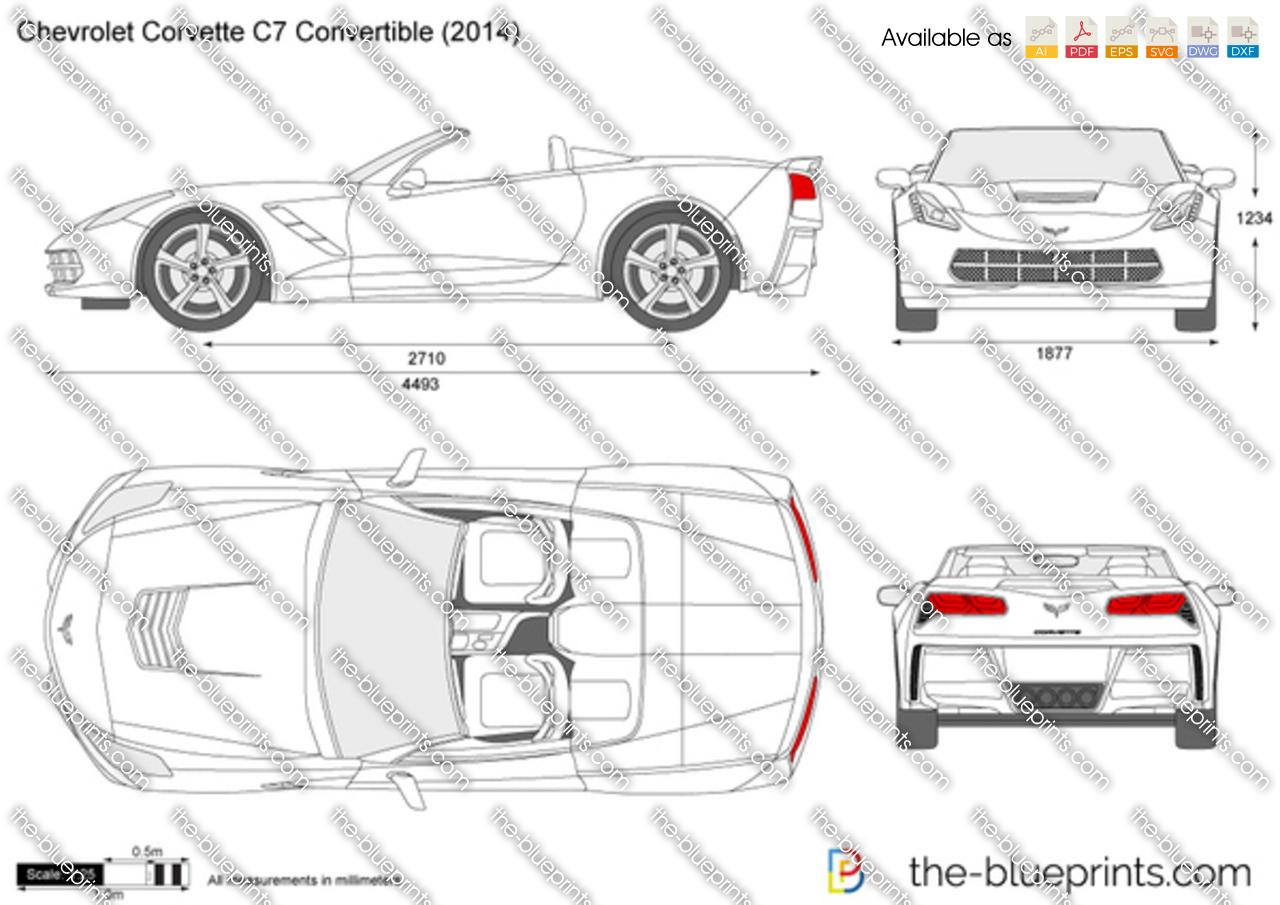 2015 Chevy Corvette Stingray Price The-Blueprints.com - Vector Drawing - Chevrolet Corvette ...