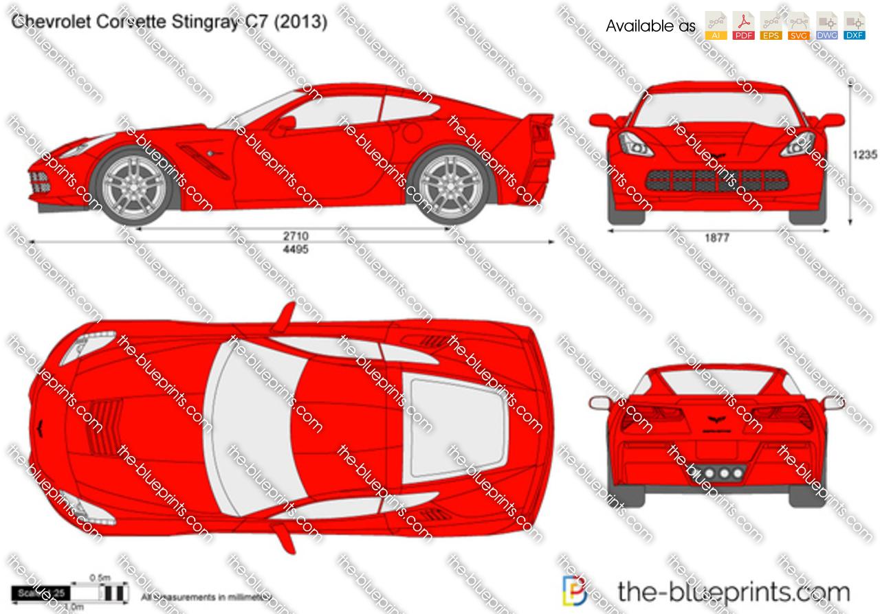 Chevrolet Corvette Stingray C7 2018
