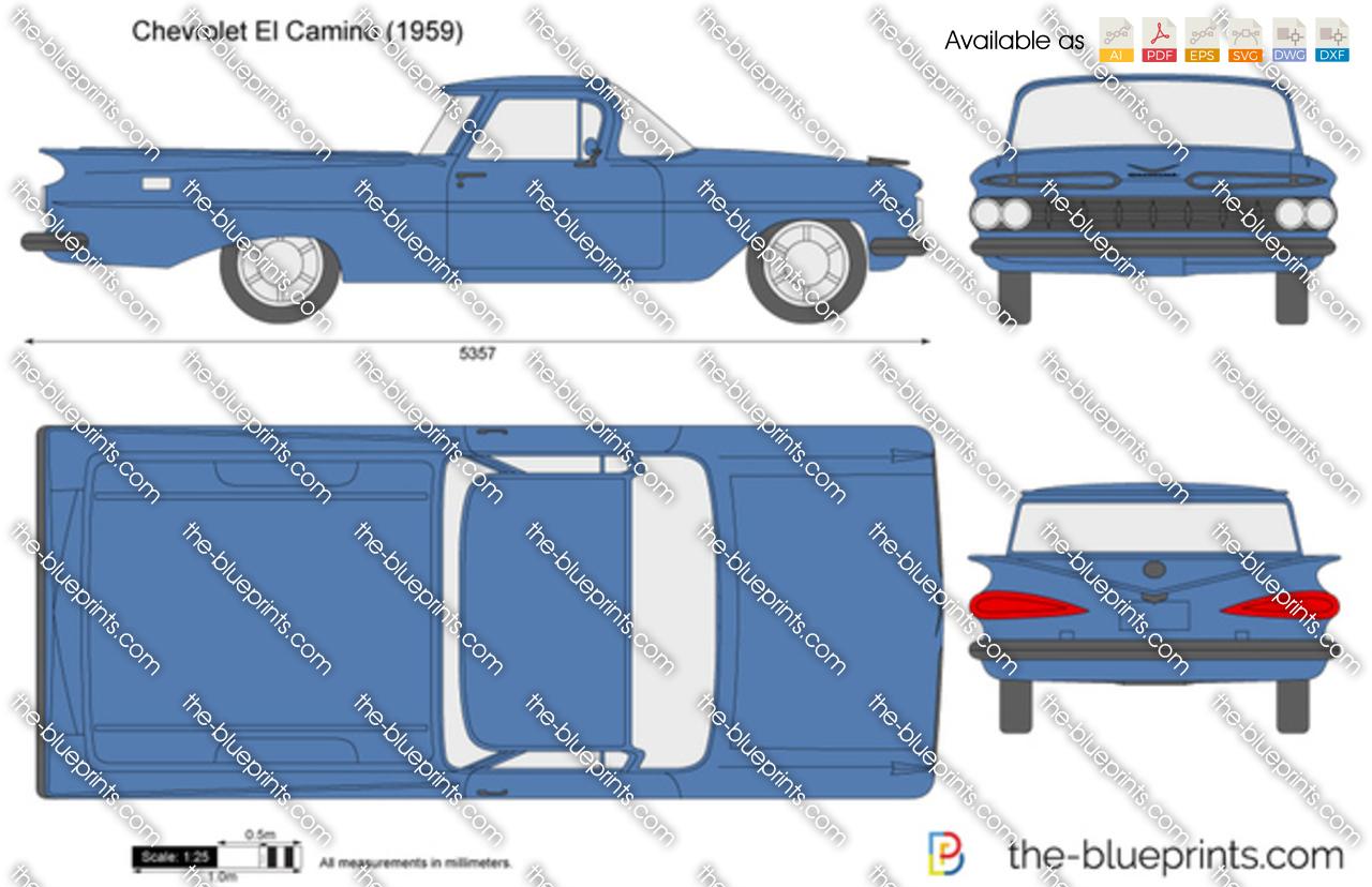 Chevrolet El Camino 1958