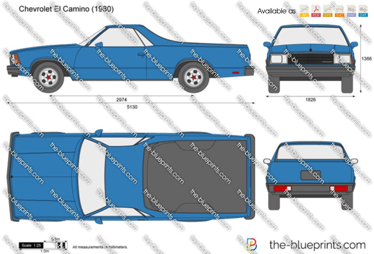 Chevrolet El Camino 1982