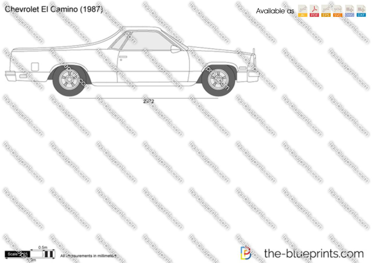 Chevrolet El Camino 1987