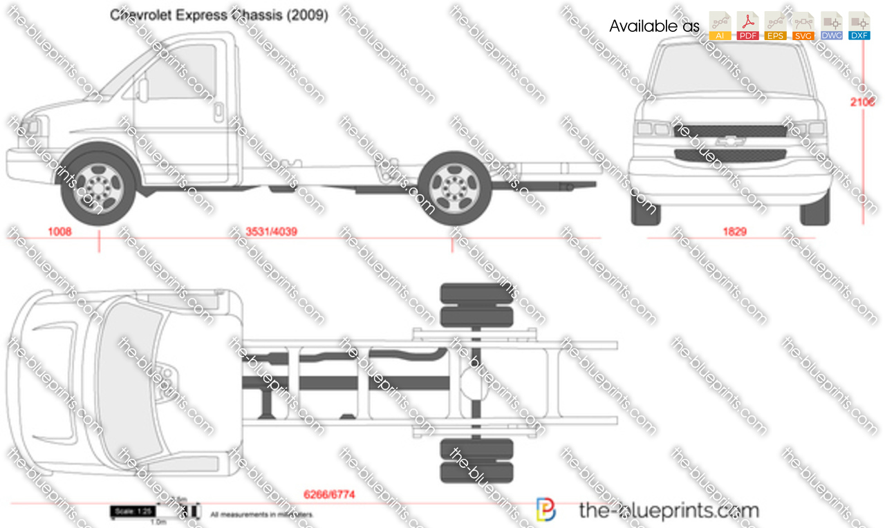 Chevrolet Express Chassis 2003