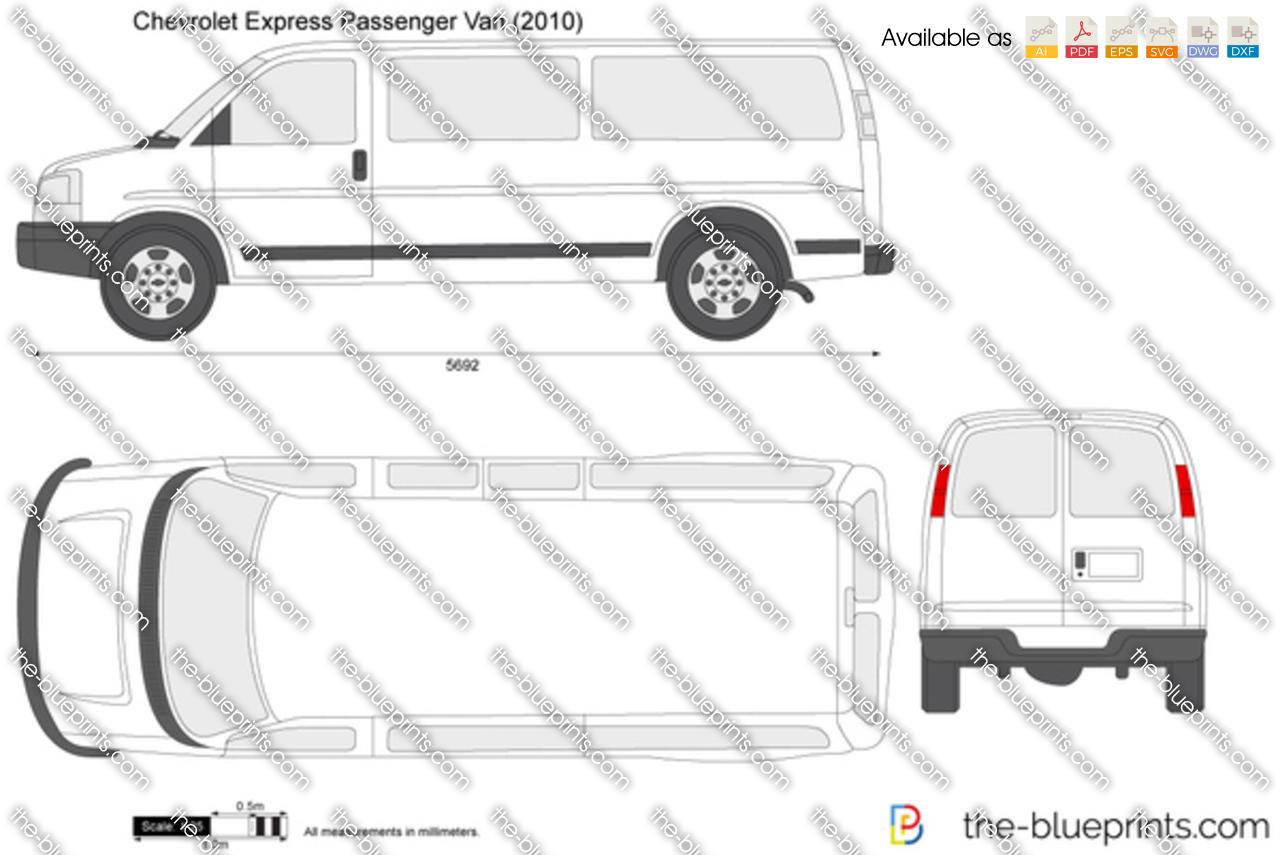 Chevrolet Express Passenger Van 2014