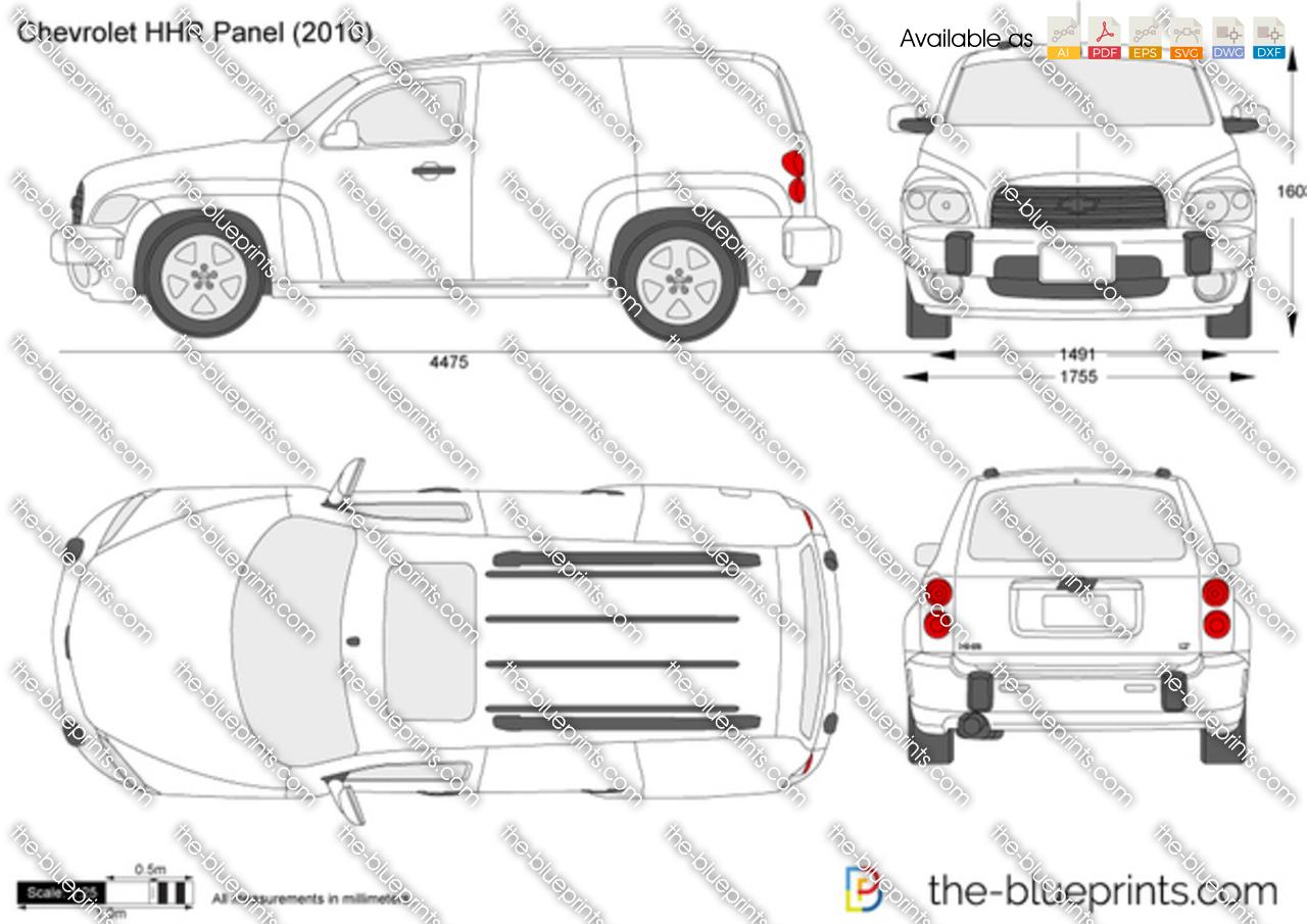 Chevrolet HHR Panel 2008