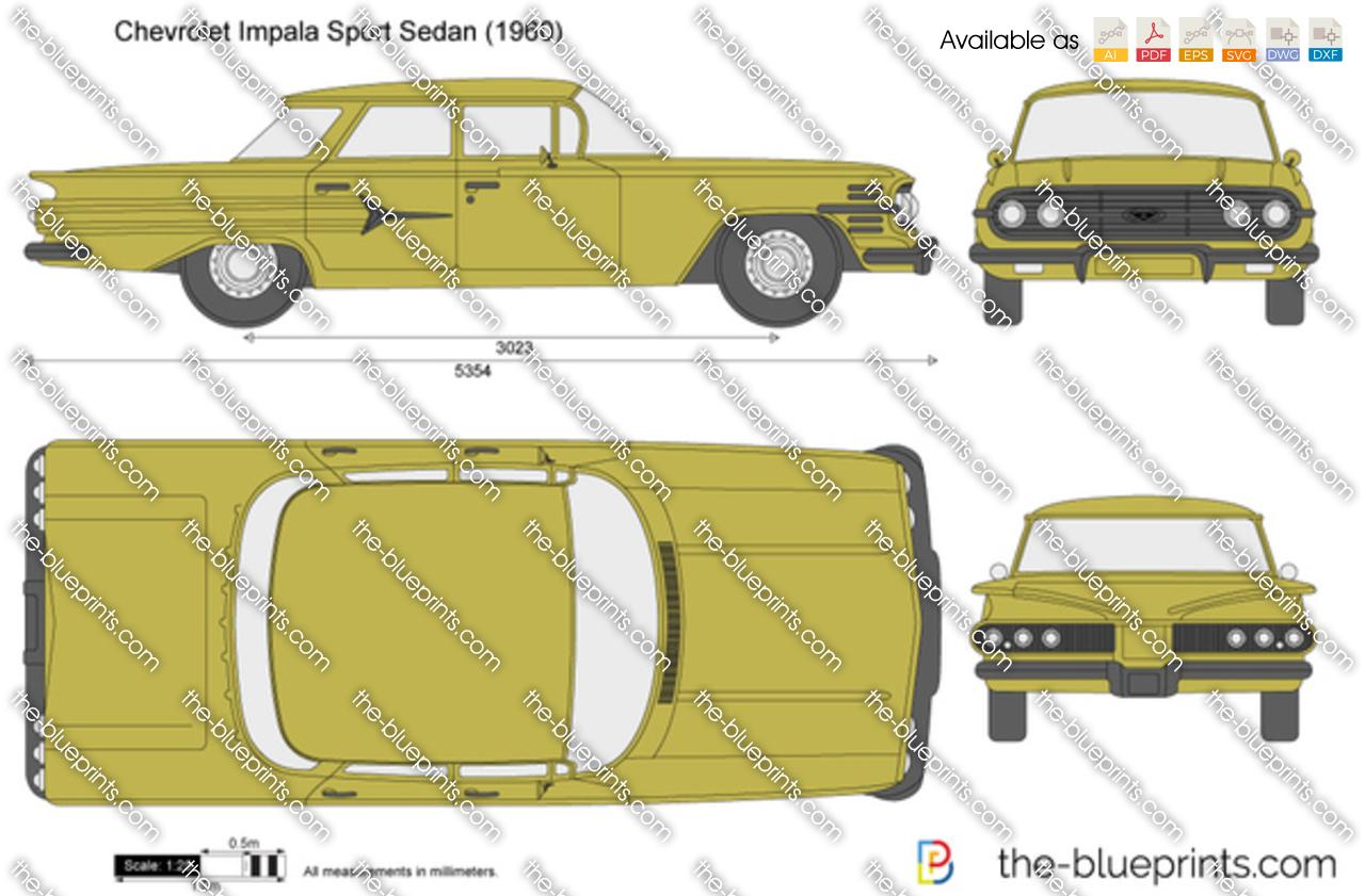 Chevrolet Impala Sport Sedan 1961