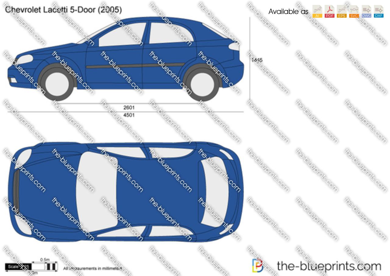 Chevrolet Lacetti 5-Door 2004