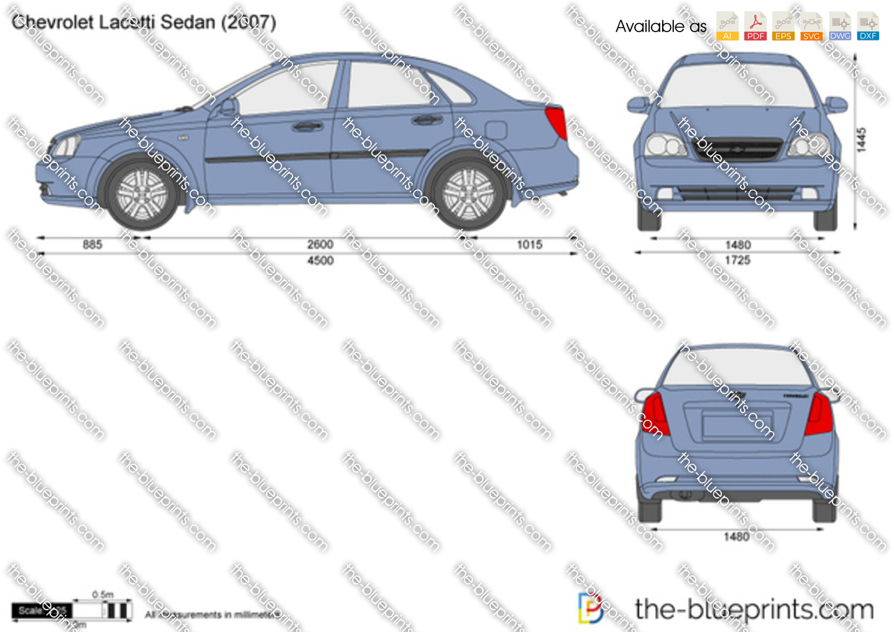 Chevrolet Lacetti Sedan 2003
