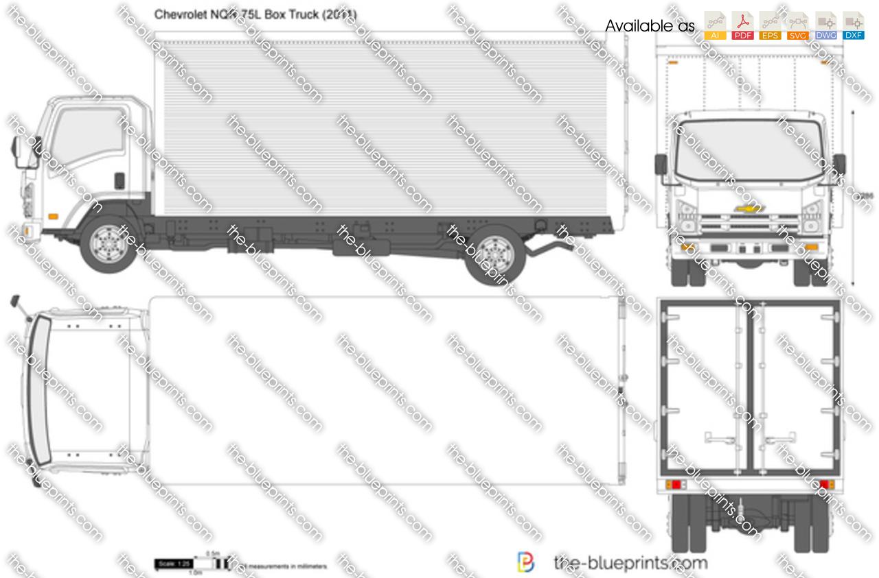 Chevrolet NQR 75L Box Truck 2017