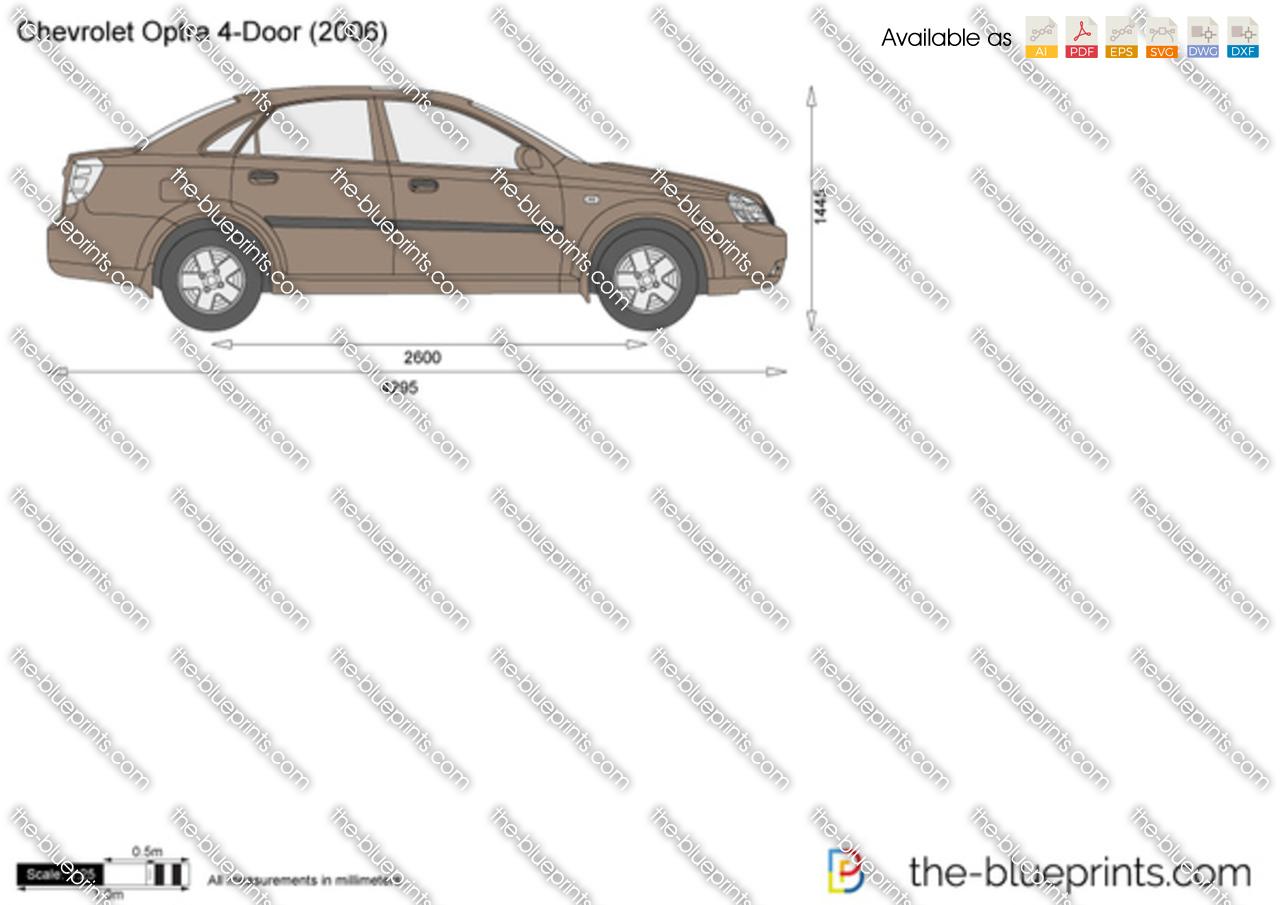Chevrolet Optra 4-Door 2002