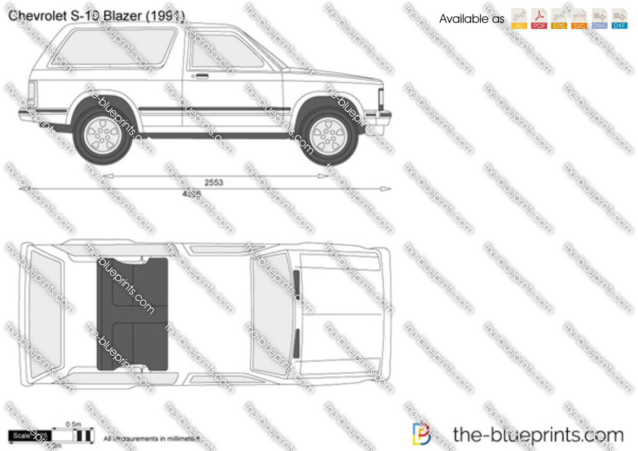 Chevrolet S-10 Blazer 3-door 1989
