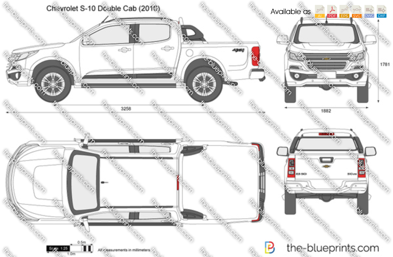 Chevrolet S-10 Double Cab 2017