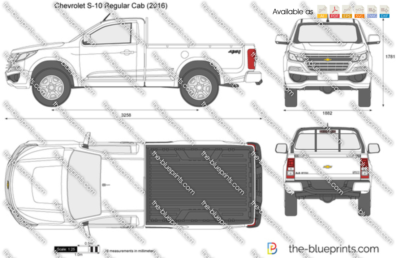 Chevrolet S-10 Regular Cab 2018
