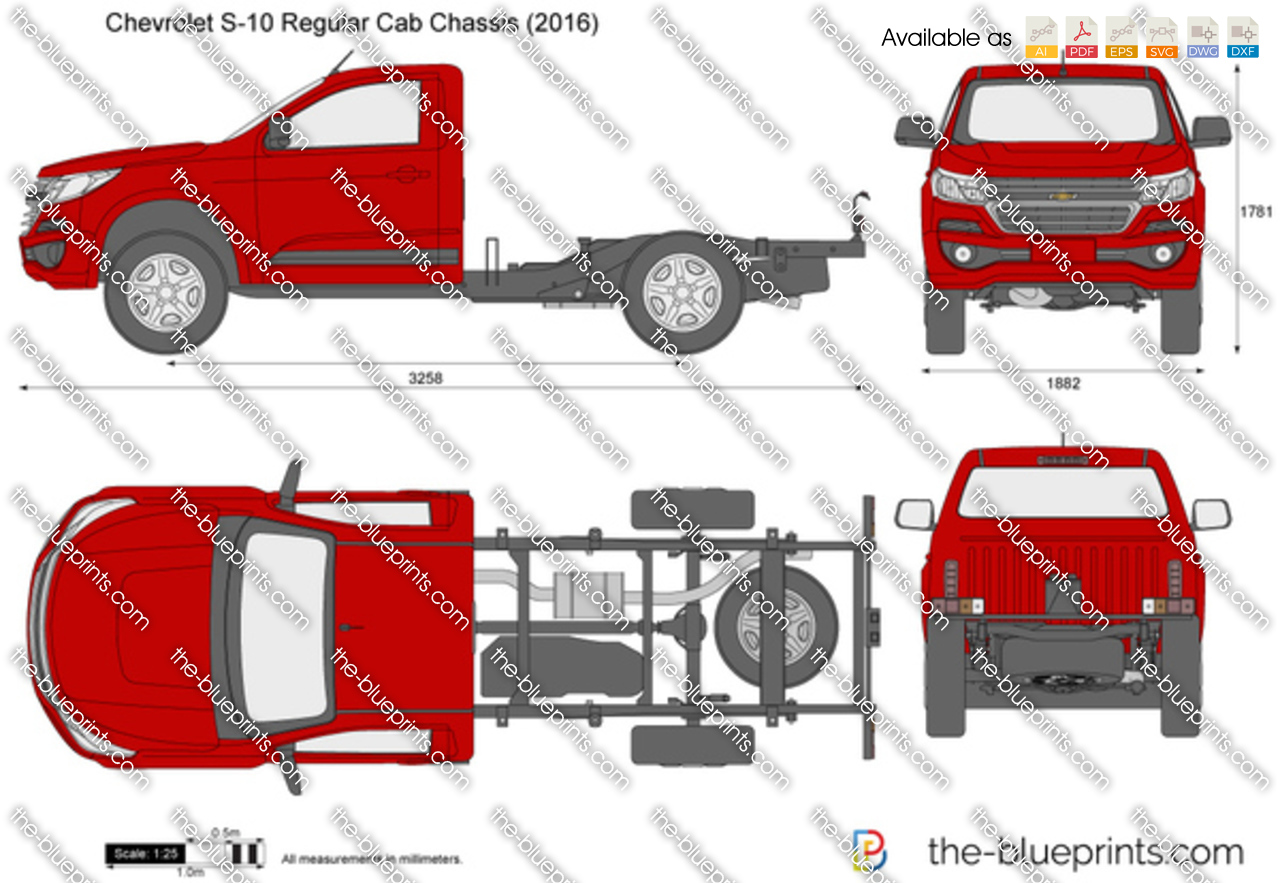 Chevrolet S-10 Regular Cab Chassis 2017
