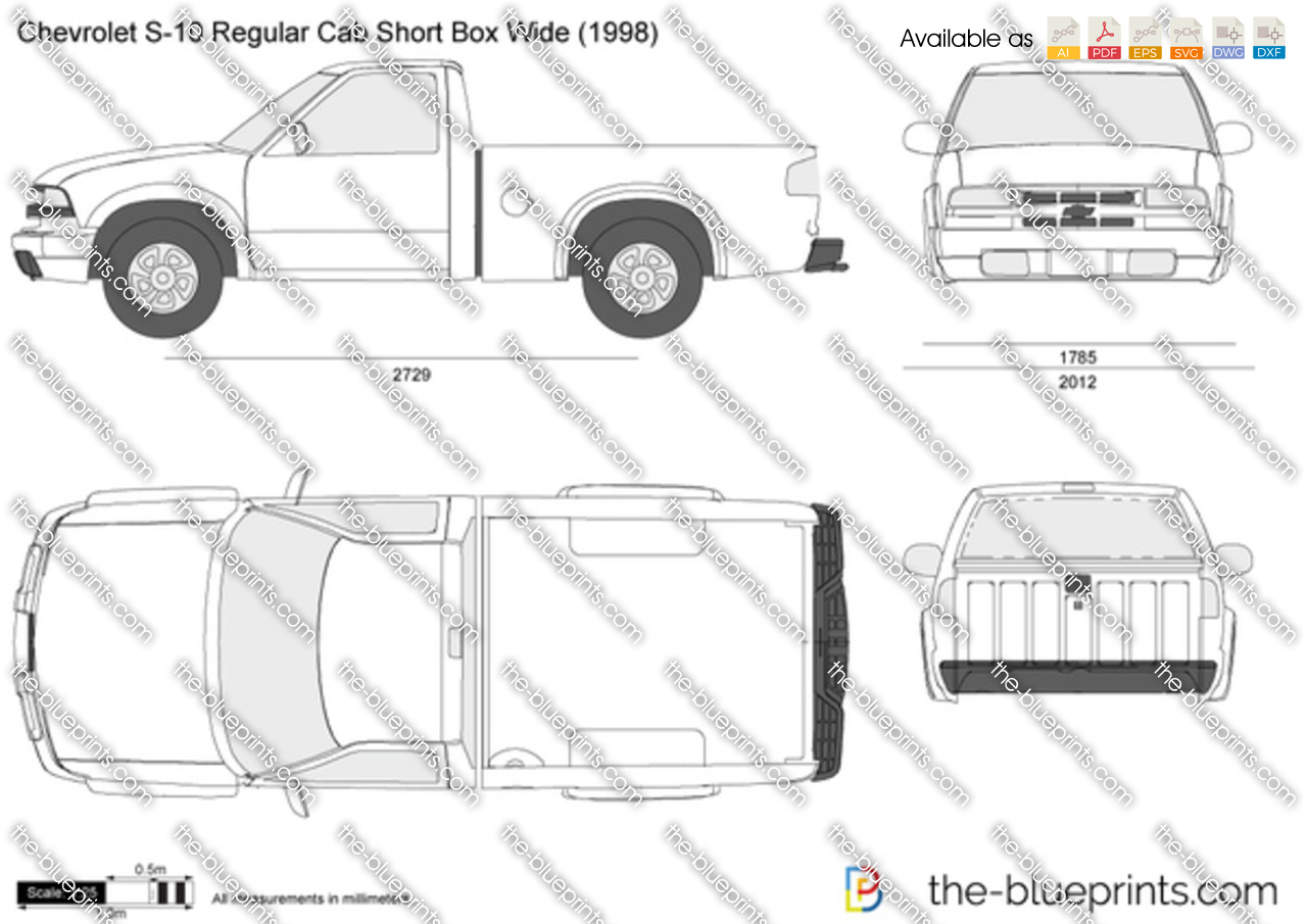 1997 s10 truck dimensions diagram diy enthusiasts wiring diagrams