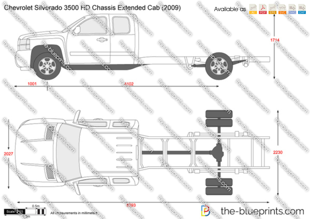 Chevrolet Silverado 3500 HD Chassis Extended Cab