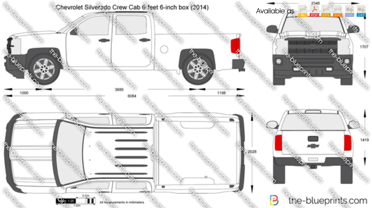 Chevrolet Silverado Crew Cab 6-feet 6-inch box 2015