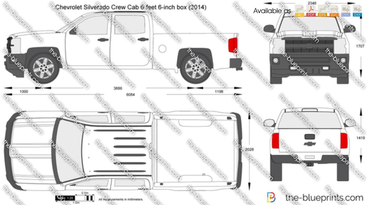 Chevrolet Silverado Crew Cab 6-feet 6-inch box 2016