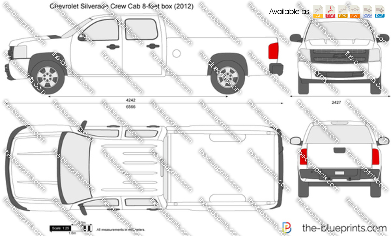 Chevrolet Silverado Crew Cab 8-feet box 2008