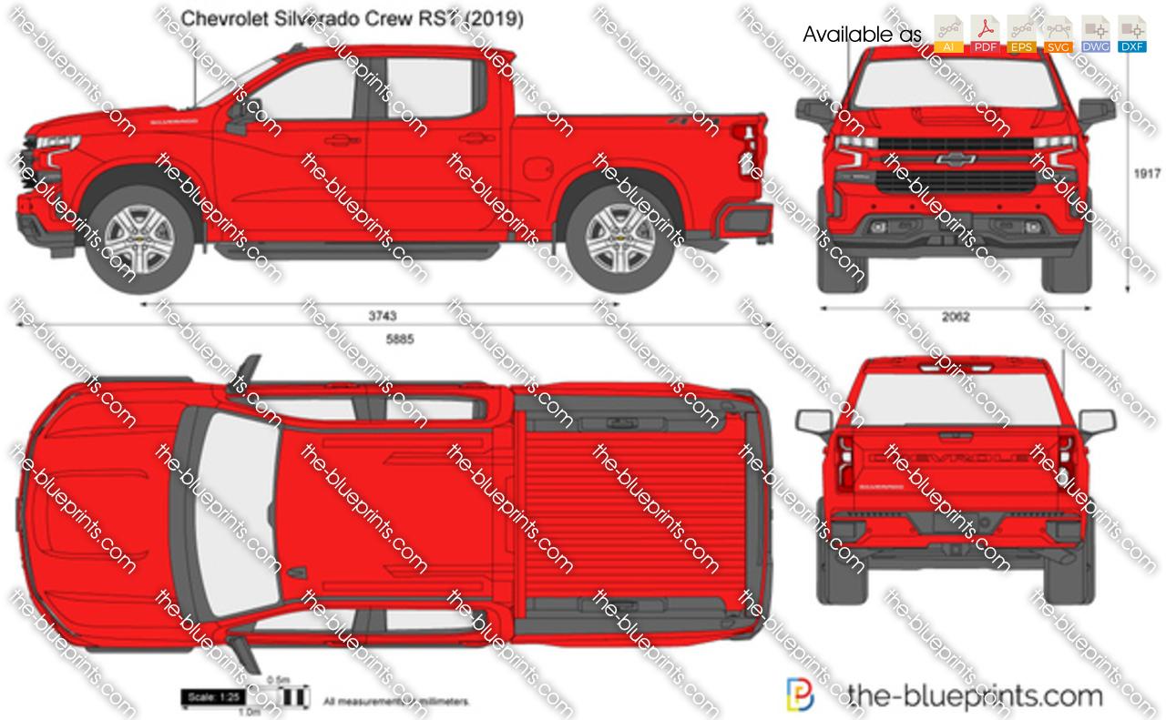 Chevrolet Silverado Crew RST