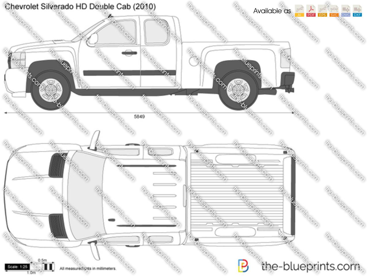 Chevrolet Silverado HD Double Cab 2009