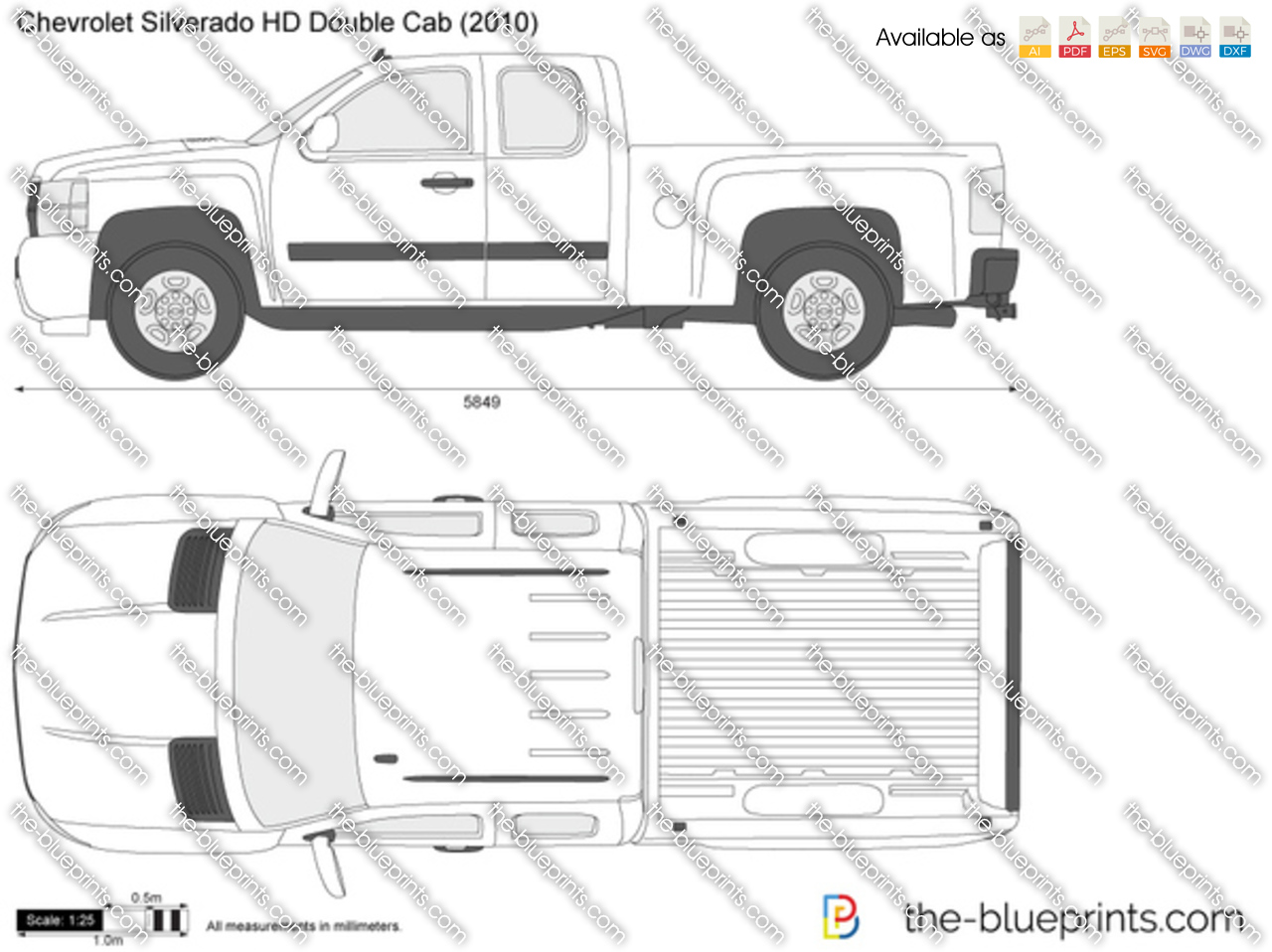 Chevrolet Silverado HD Double Cab 2011