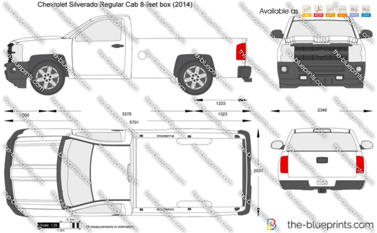 Chevrolet Silverado Regular Cab 8-feet box 2016