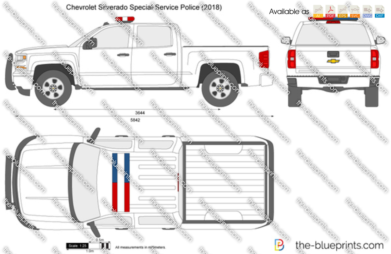 Chevrolet Silverado Special-Service Police