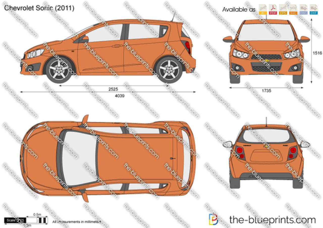 Chevrolet Sonic 5-Door 2011