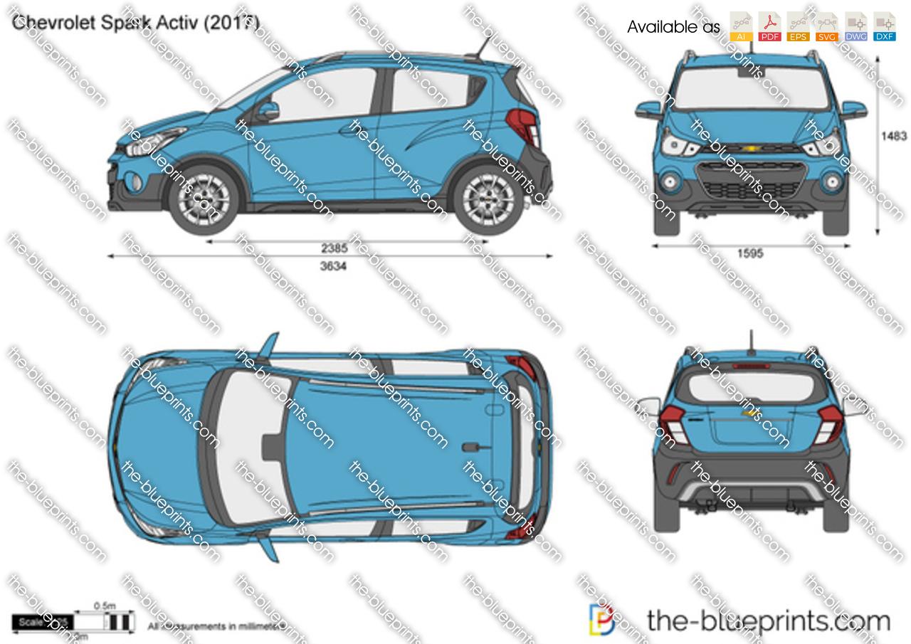 Chevrolet Spark Activ 2018