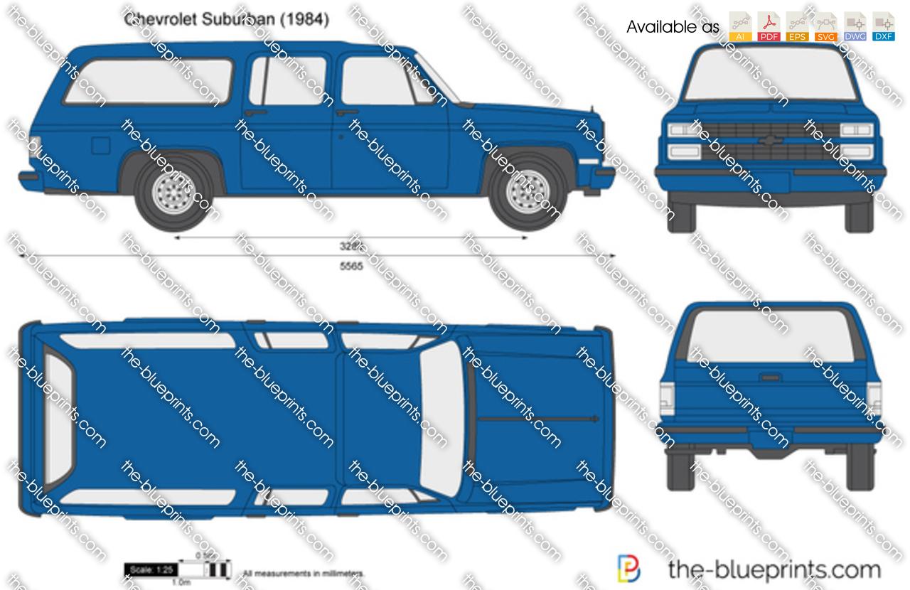 Chevrolet Suburban 1987