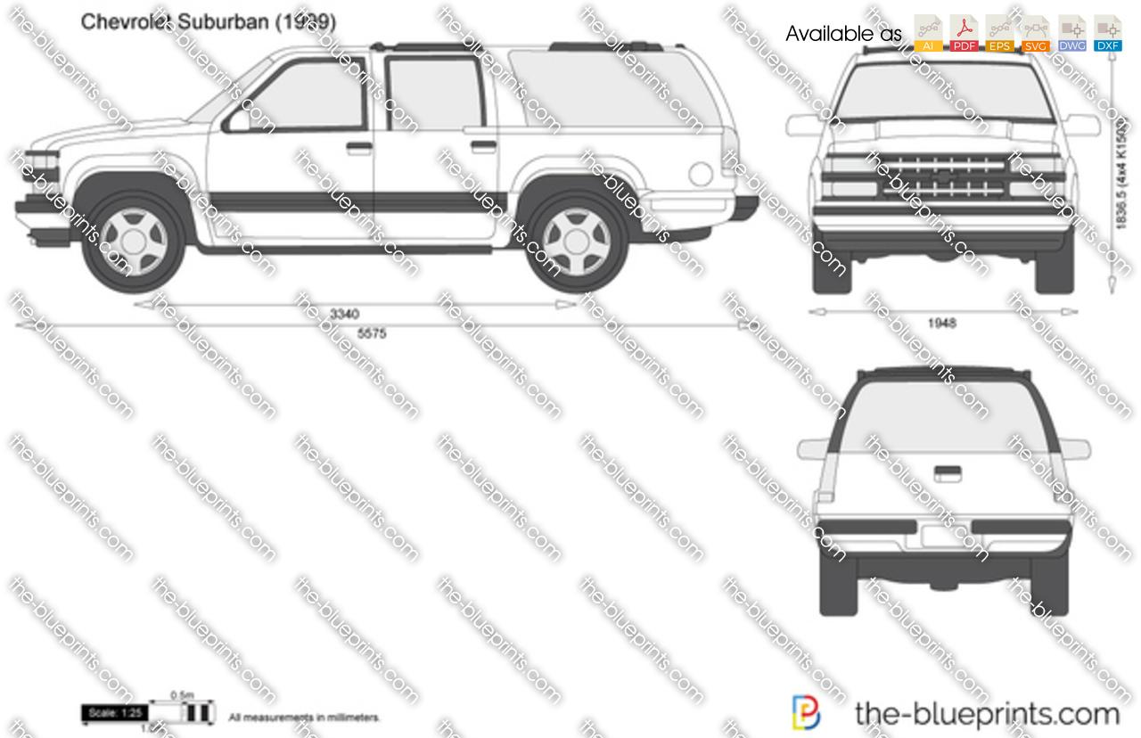 Chevrolet Suburban 1993