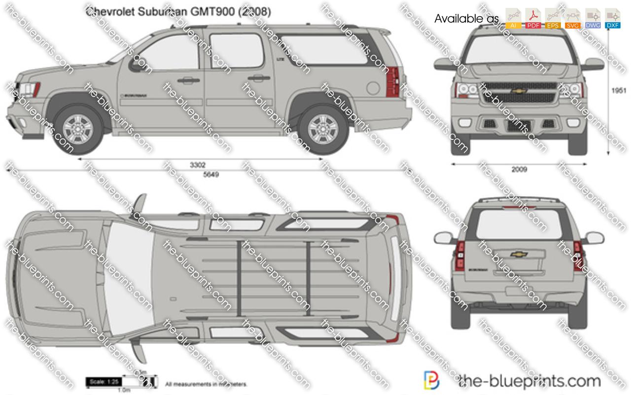 Chevrolet Suburban GMT900 2007