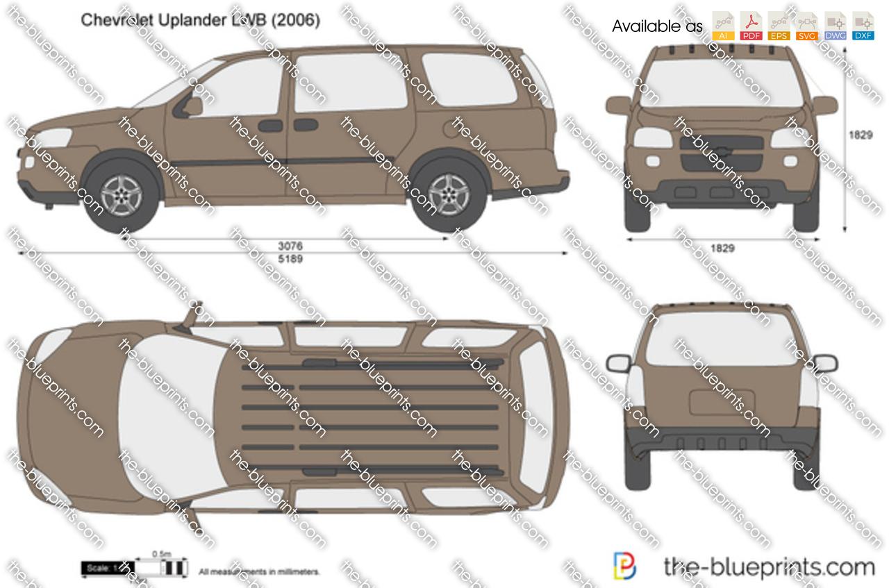Chevrolet Uplander LWB 2009