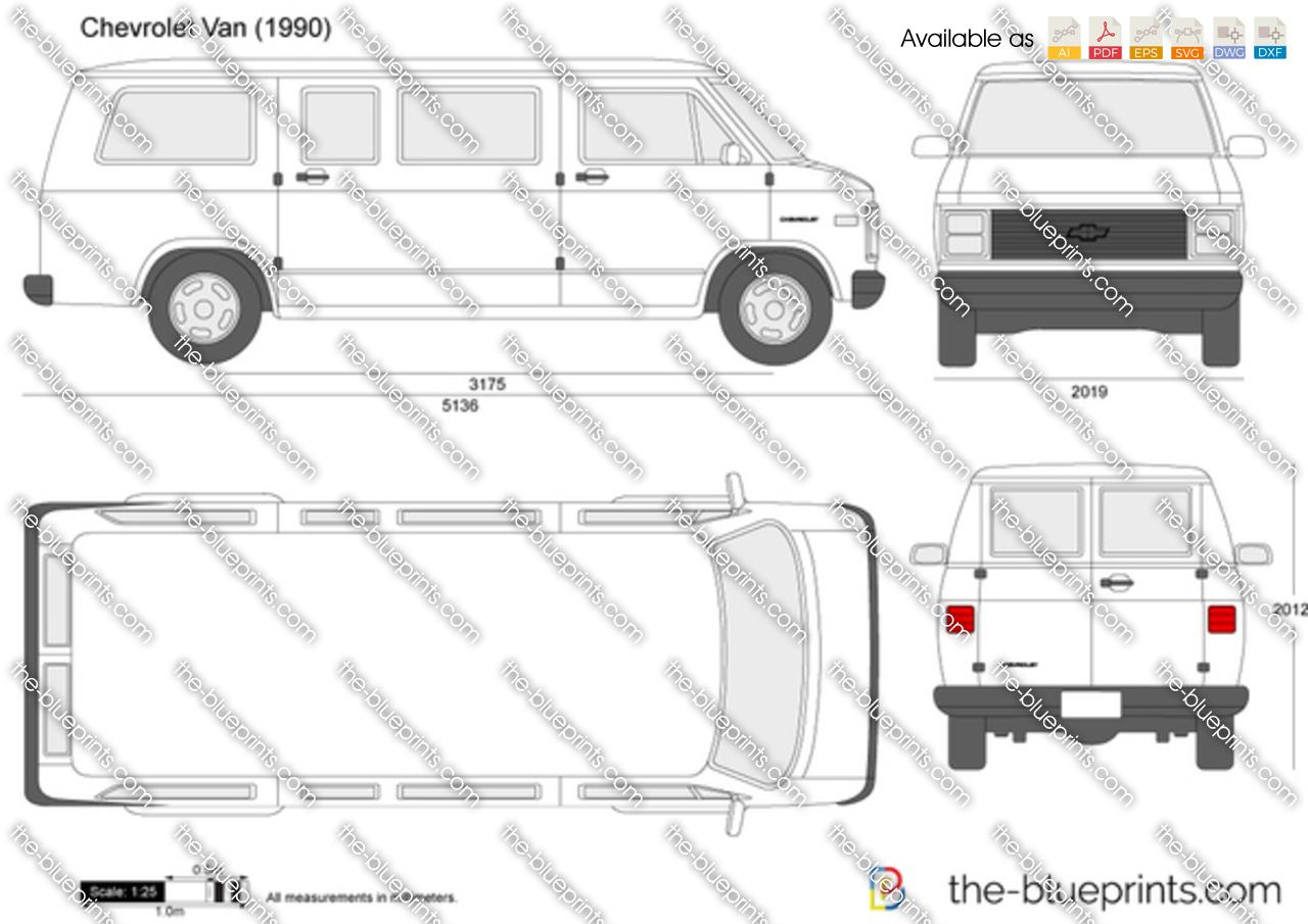 Chevrolet Van 1989