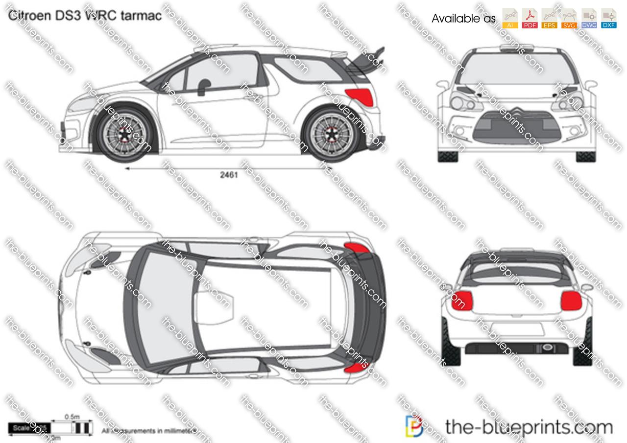 Citroen DS3 WRC tarmac
