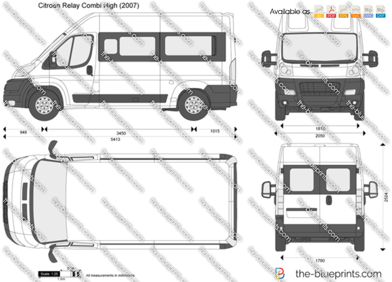 Citroen Relay Combi High