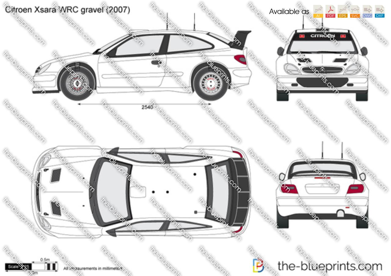 Citroen Xsara WRC gravel