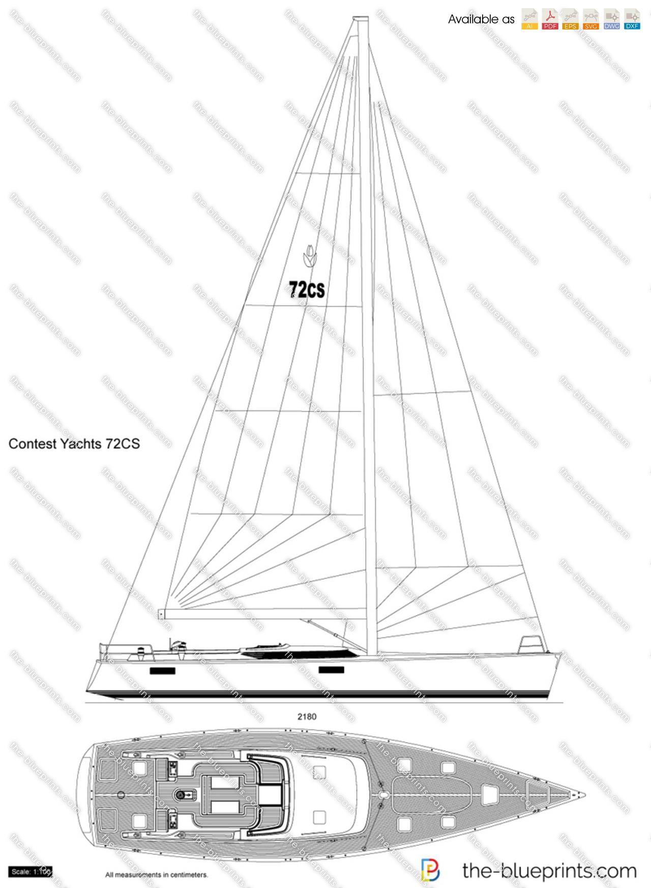 Contest Yachts 72CS